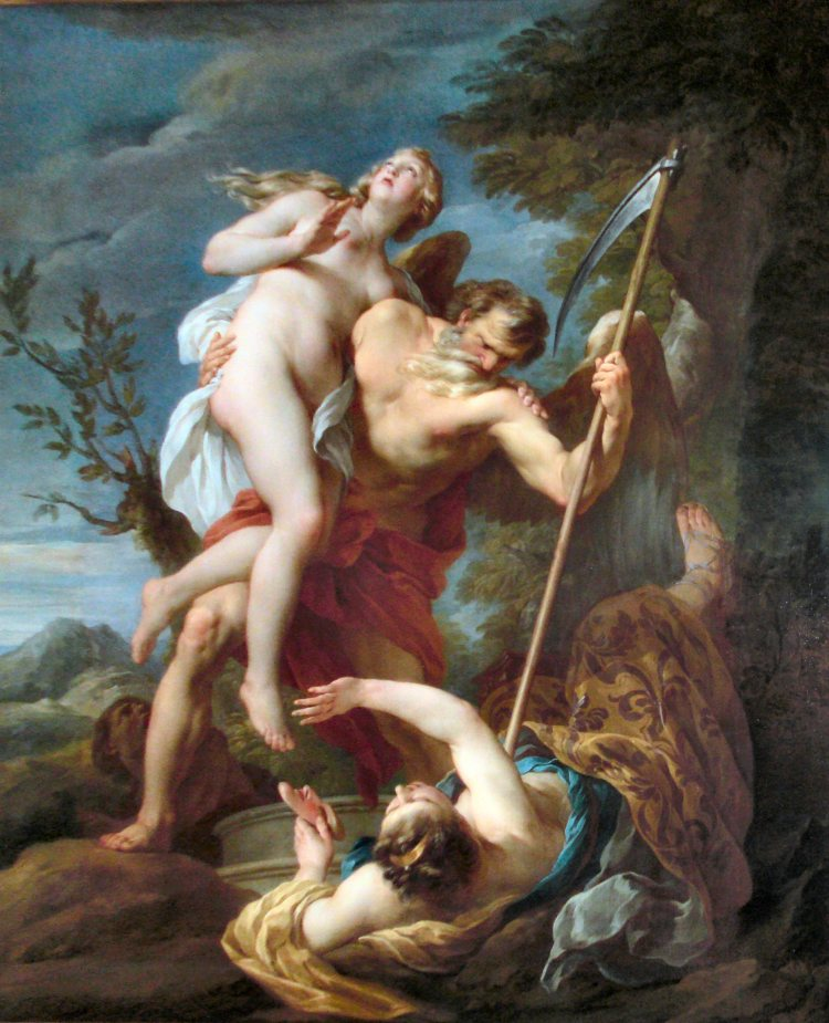 François Lemoyne (1688-1737), Time Saving Truth from Falsehood and Envy, 1737 (completed on the day before the artist's suicide), Wallace Collection, London