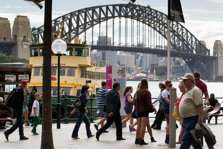 Art Walk Map, Sydney 2014