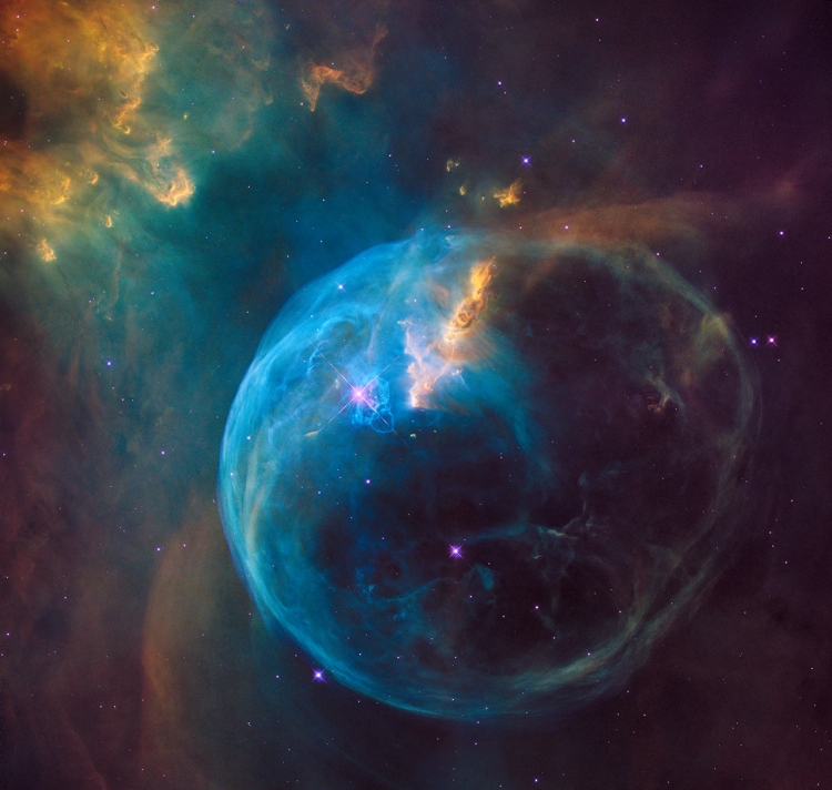 NGC 7635: The Bubble Nebula