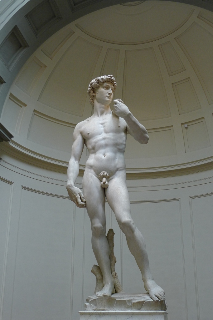Michelangelo, 'David', marble, 1501-1504, Galleria dell'Accademia (Florence)