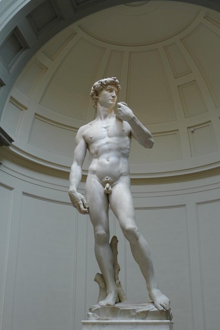 Michelangelo, 'David', marble, 1501-1504, Galleria dell'Accademia di Firenze (Florence)