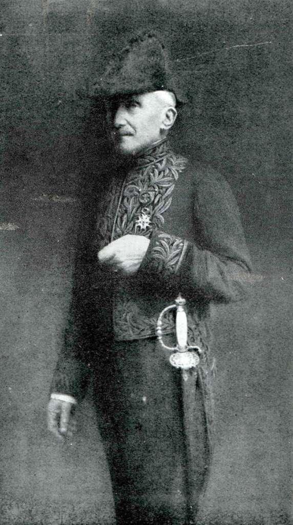 Bergson at the Académie française, 1918