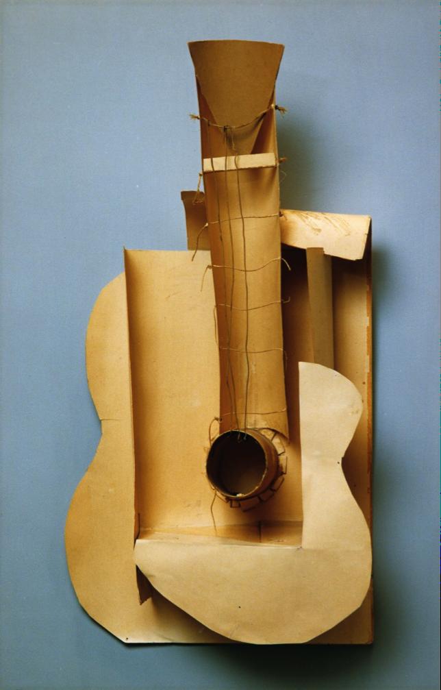 picasso guitar 1913 analysis essay
