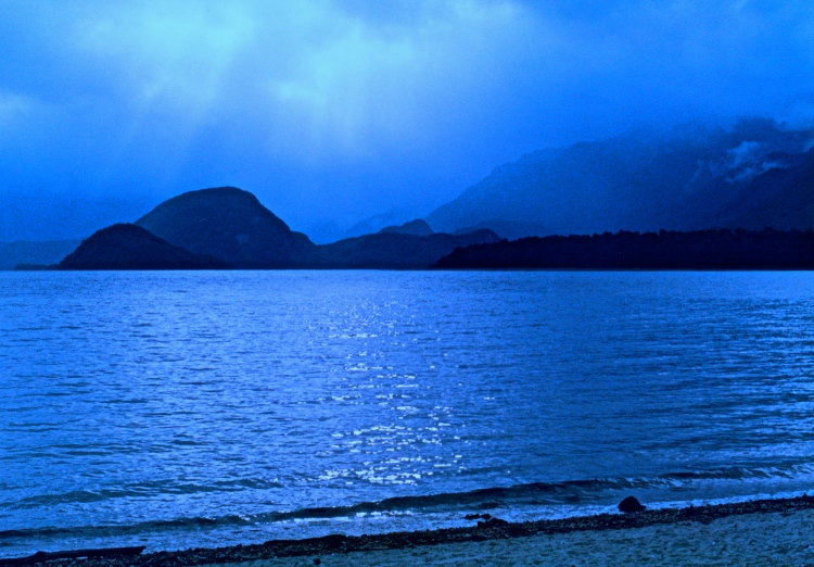 Evening LIght, Lake Manapouri, New Zealand