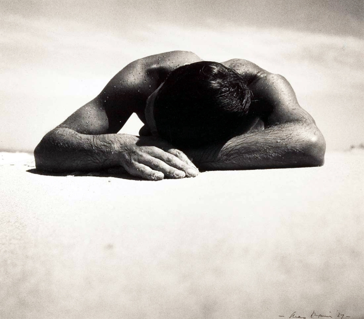 Max Dupain, 'Sunbaker', 1937, National Gallery of Australia, Canberra
