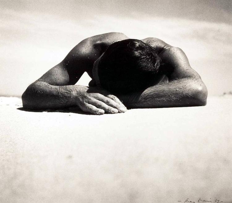 Max Dupain, 'Sunbaker', 1937, National Gallery of Australia, Canberra
