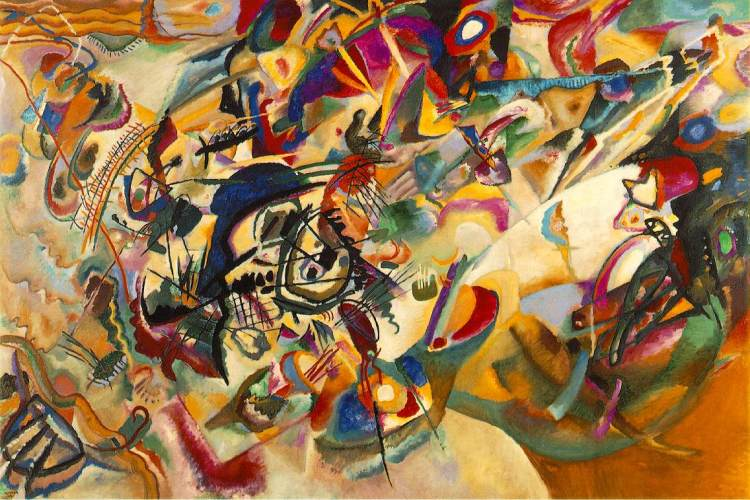 Wassily Kandinsky, 'Composition VII', 1913, oil on canvas, State Tretyakov Gallery, Moscow
