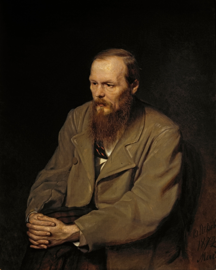 Vasily Perov, 'Portrait of Fyodor M. Dostoevsky', 1872, oil on canvas, The State Tretyakov Gallery, Moscow