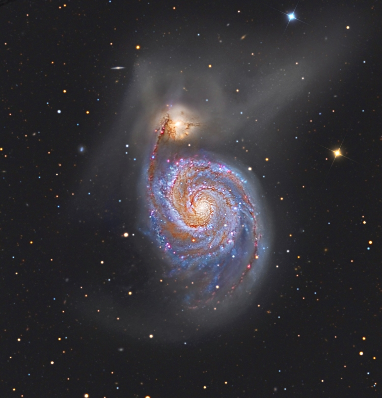 M51: The Whirlpool Galaxy