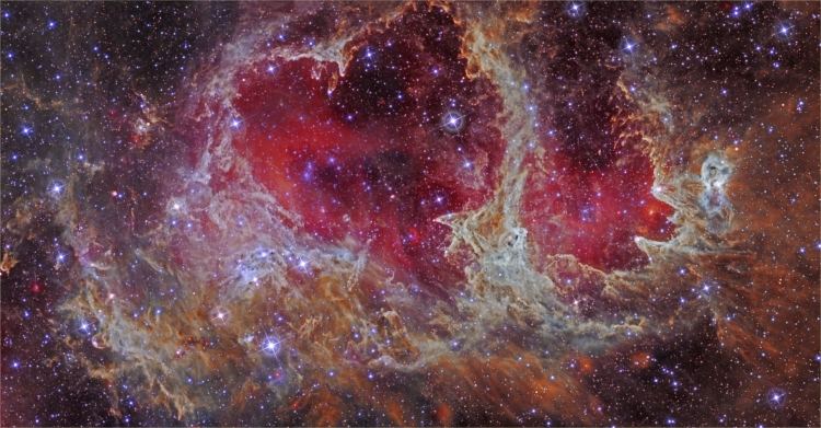 W5: Pillars of Star Formation