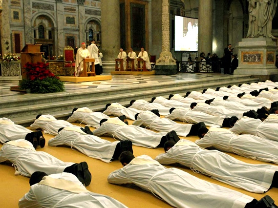 Ordination of priests, Rome, 2008