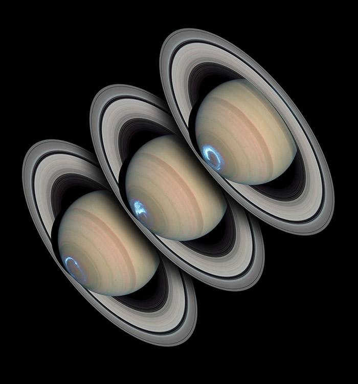 Persistent Saturnian Auroras