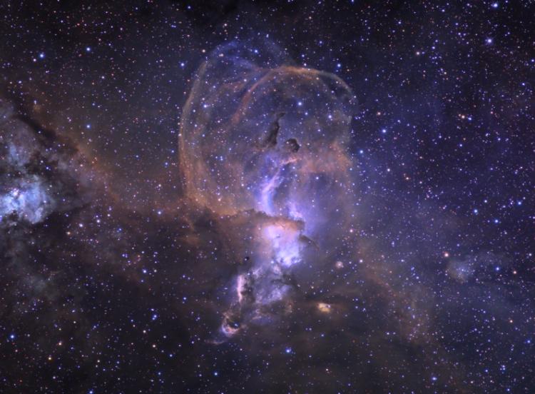 The NGC 3576 Nebula
