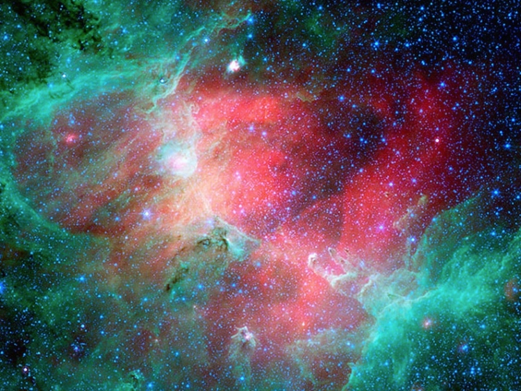 7. Complimentaries: The Eagle Nebula in Infrared