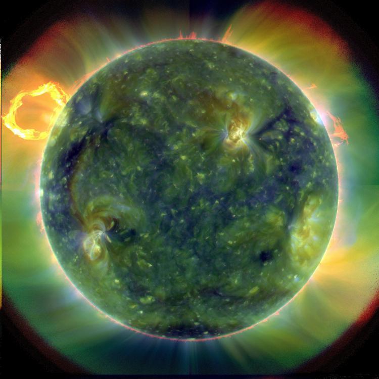 SDO: The Extreme Ultraviolet Sun