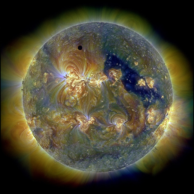 Venus and the Triply Ultraviolet Sun