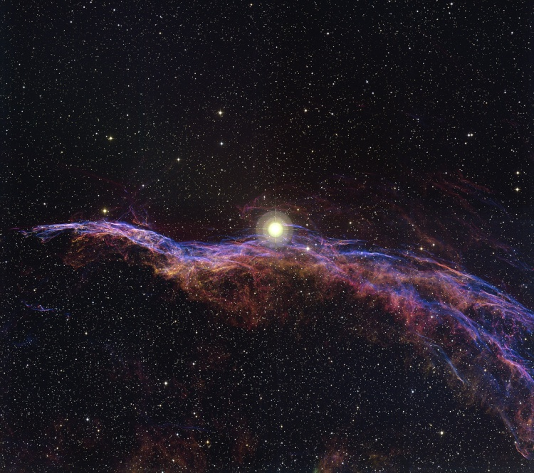 8. NGC 6960: The Witch's Broom Nebula