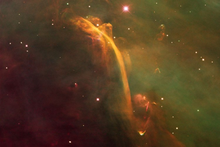 HH-222: The Waterfall Nebula