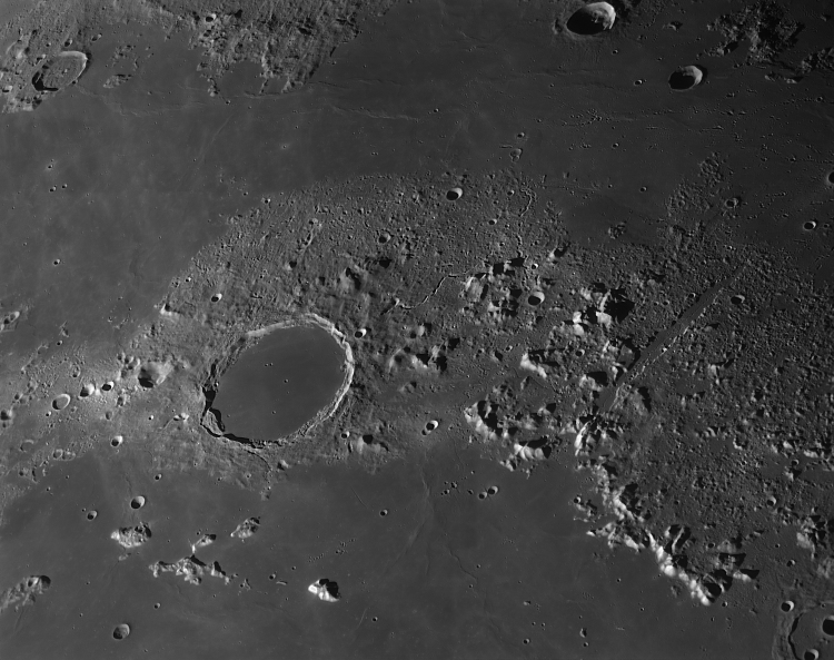 9.  Plato and the Lunar Alps