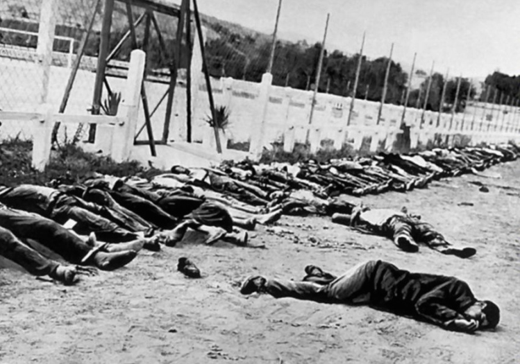 The Sétif massacre of Muslims by French, May 1945