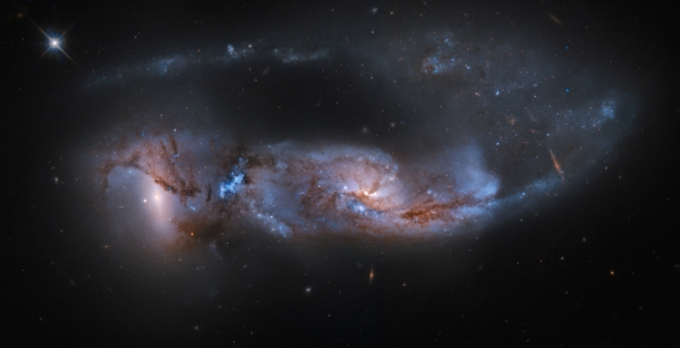 6. Arp 81: 100 Million Years Later