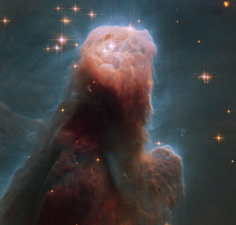 10. The Cone Nebula from Hubble