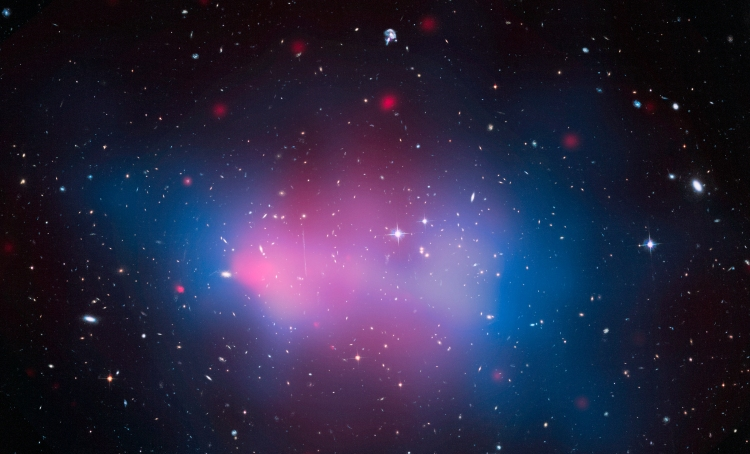 7. The El Gordo ('fat one') Massive Galaxy Cluster: one of the largest and most massive objects known