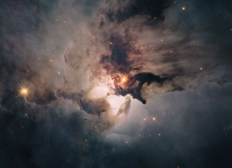 7. In the Centre of the Lagoon Nebula