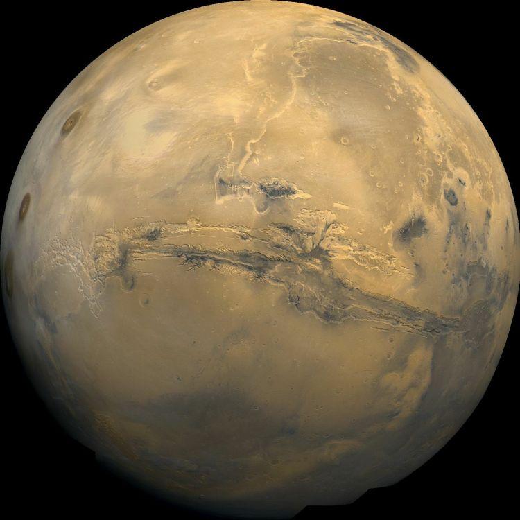 4. Valles Marineris: The Grand Canyon of Mars