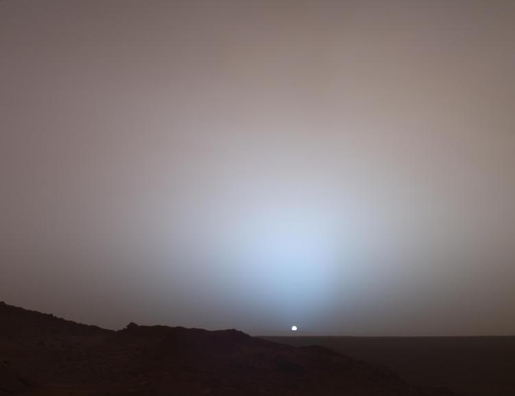 10. Martian Sunset