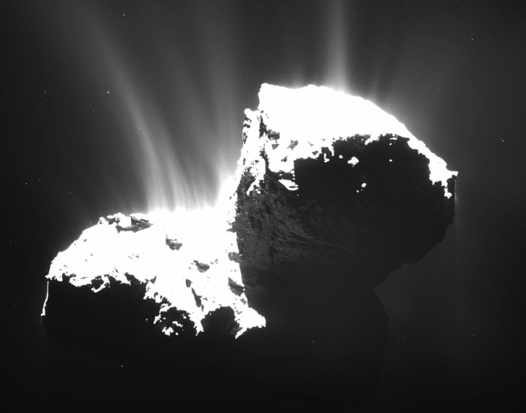 1. Jets from Comet Churyumov-Gerasimenko