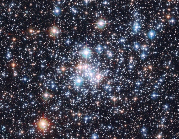 8. Open Cluster NGC 290: A Stellar Jewel Box