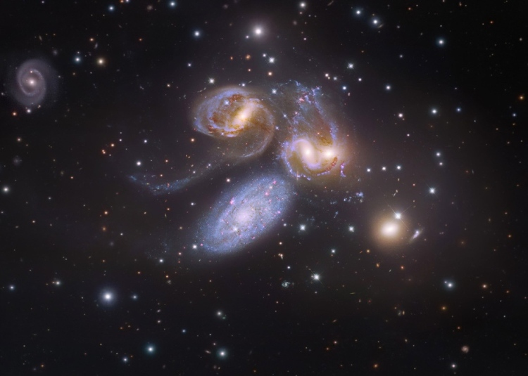 6. Stephan's Quintet Plus One