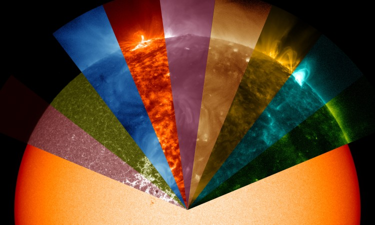 1. SDO's Multiwavelength Sun