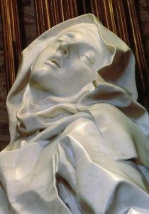 Gian Lorenzo Bernini (1598-1680), 'Ecstasy of Saint Theresa', marble, 1647-1652, Santa Maria della Vittoria, Rome