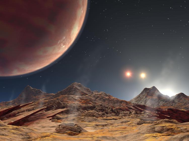 HD 188753: Triple Sunset