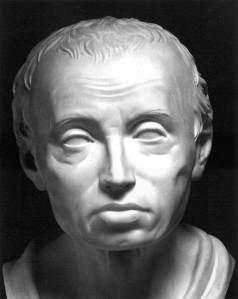 Immanuel Kant by Karl Friedrich Hagemann, 1801, marble, Kunsthalle, Hamburg