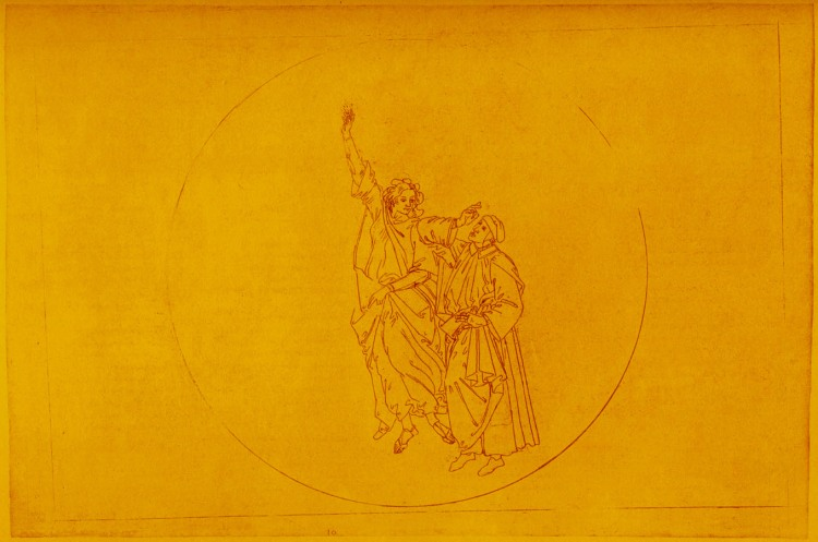 Sandro Botticelli, Dante and Beatrice, n.d., The University of Texas, Austin