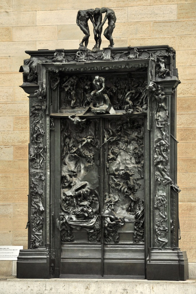 Auguste Rodin, The Gates of Hell, Kunsthaus, Zürich