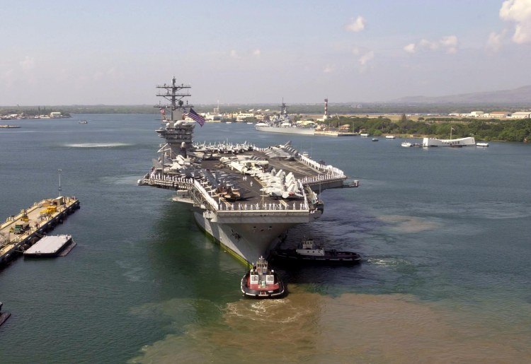 USS Nimitz, Pearl Harbour, Hawaii