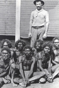 Aboriginal prisoners on Rottnest Island, 1920s