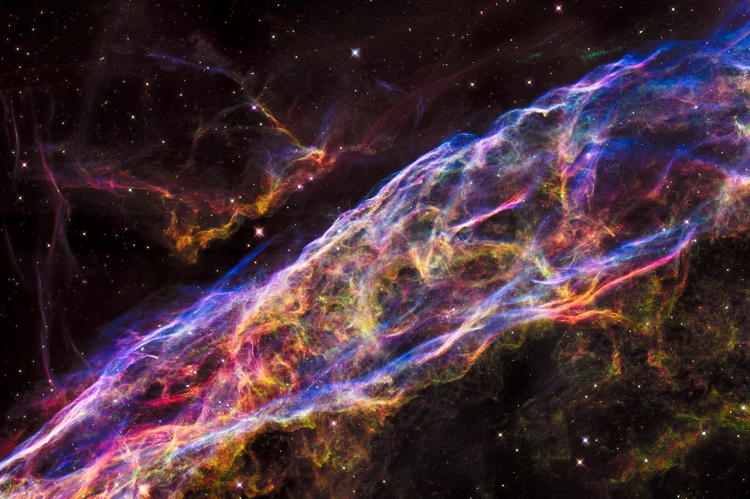 4. The Veil Nebula supernova remnant