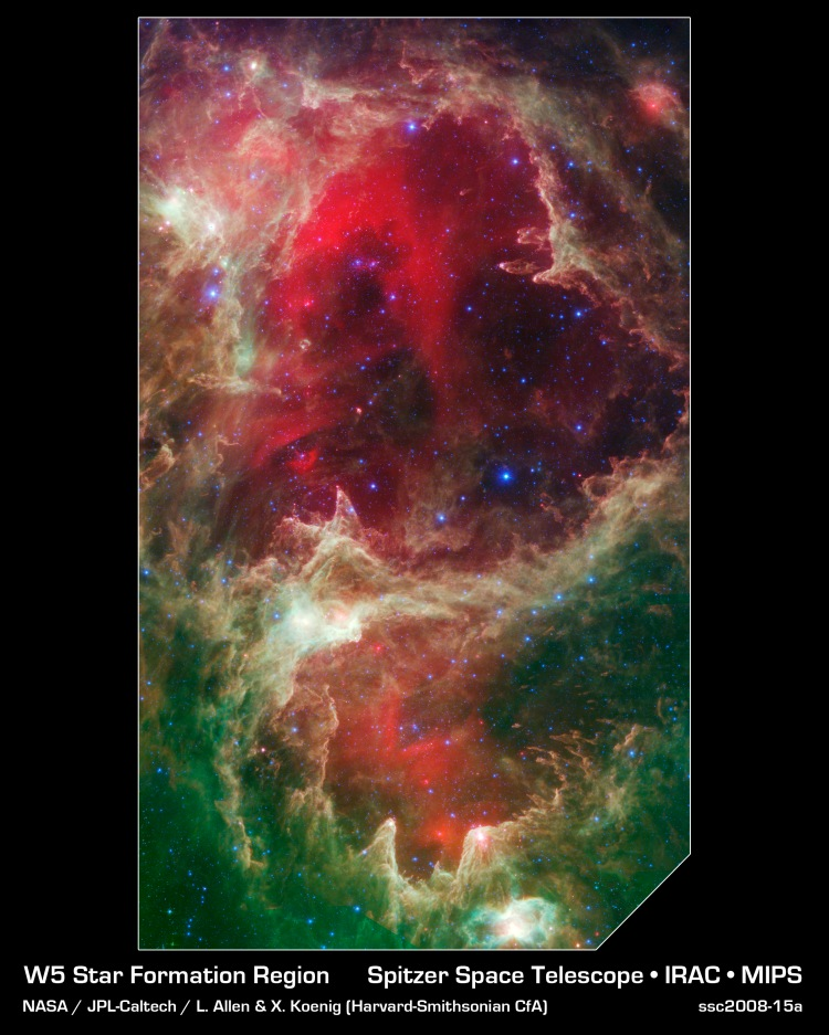 W5: Pillars of Star Creation. Double-click to enlarge. ...Are we thinking Dante?