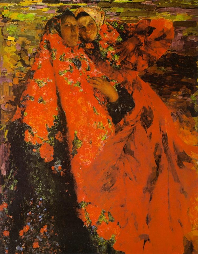 Filipp Maliavin, Peasant Women, 1904. Oil on canvas, The Russian Museum