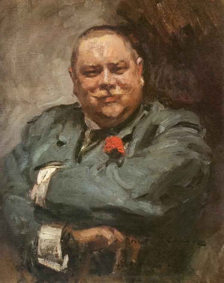 Konstantin Korovin, Portrait of Nikolai Chichagov, 1902. Oil on canvas. The Tretyakov Gallery