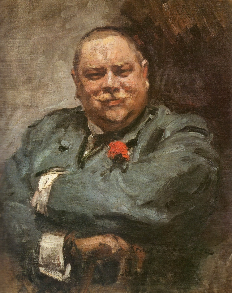 Konstantin Korovin, Portrait of Nikolai Chichagov, 1902. Oil on canvas. The Tretyakov Gallery