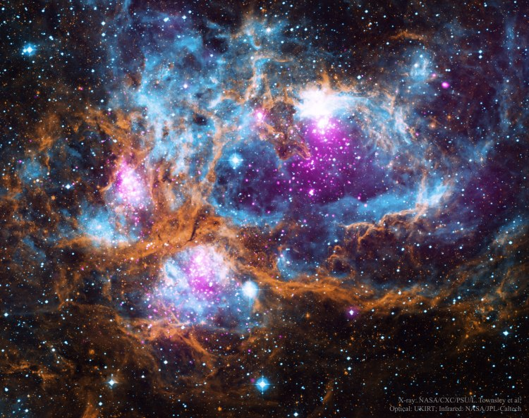 NGC 6357: Stellar Wonderland