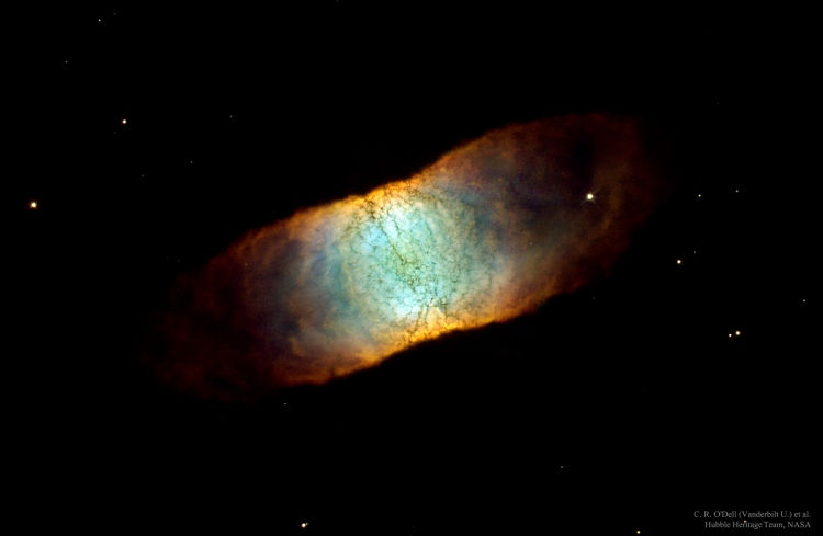 IC 4406: A Seemingly Square Nebula