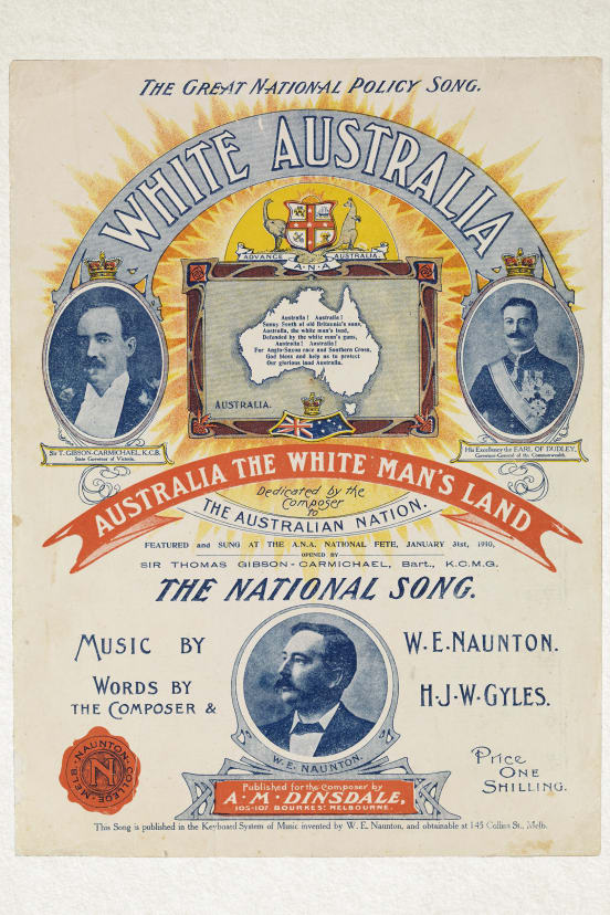 White-Australia-the-national-song