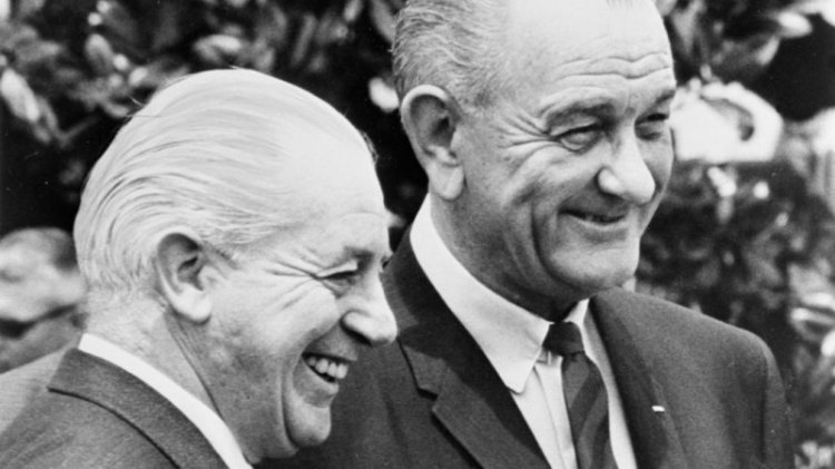 Prime-Minister-Harold-Holt-and-President-Johnson